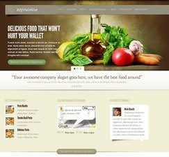 MyCuisine Theme Installation From Elegant Themes