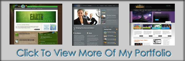 Wordpress Blog Install Portfolio page